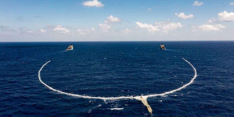 El mayor sistema de limpieza de los océanos